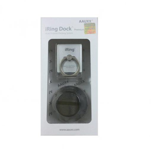 Набор iRing Dock Set - подставка iRing Dock и крепление для телефона iRing серебристого цвета для автомобиля. Подробнее на www.iring2me.ru